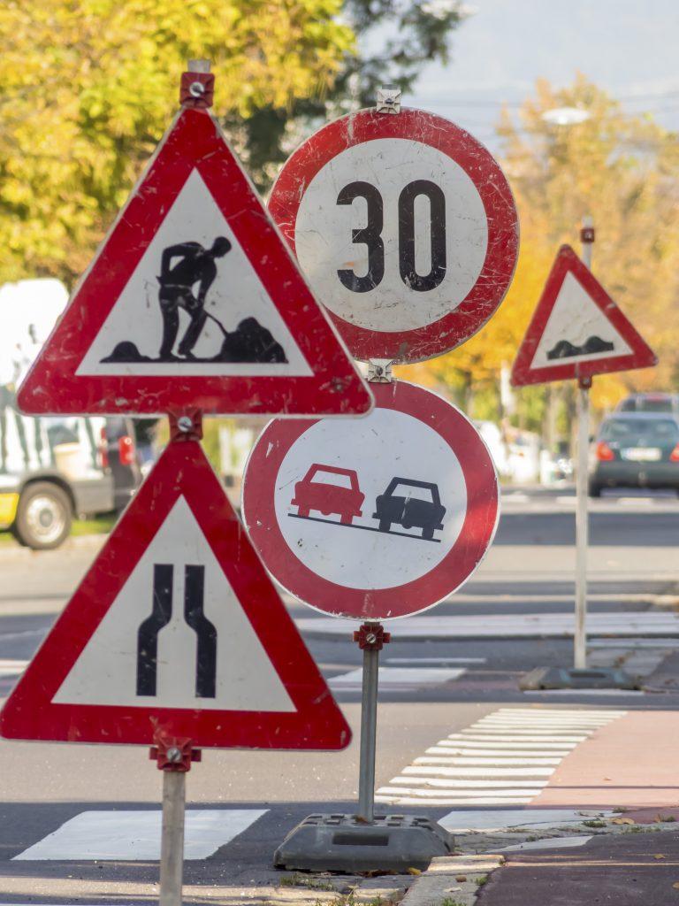unbefahrbare Straßen